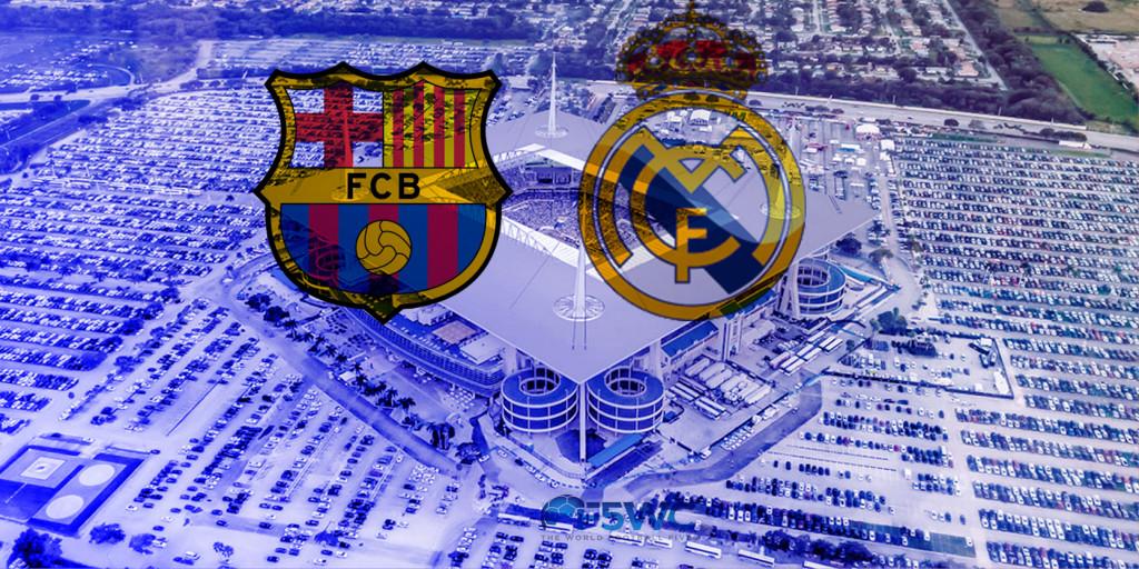 BARCELONA VS REAL MADRID EN MIAMI